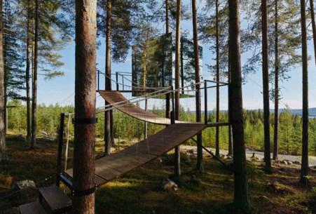 The Mirrorcube Hotel (Aynalı Küp Oteli) -Lapland, İsveç