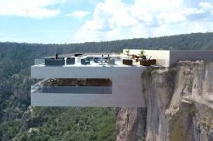 Cliff House (Uçurum Evi) - Coquimbo, Şili