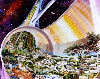 Uzaydaki evimizden bir ev manzarası