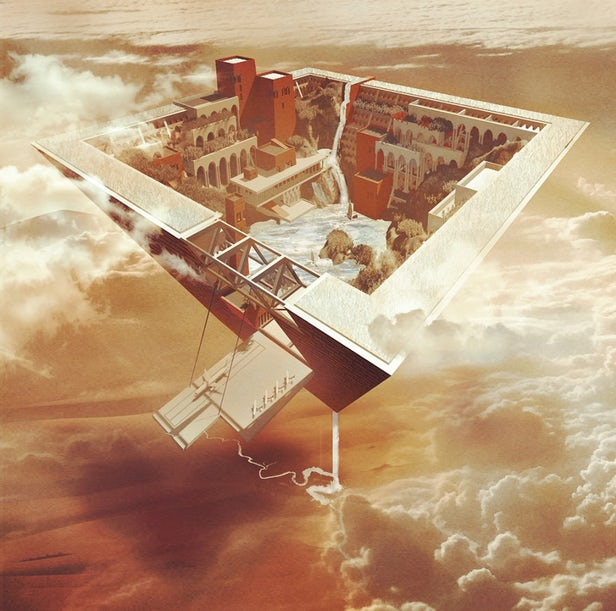 Floating Egyptian City