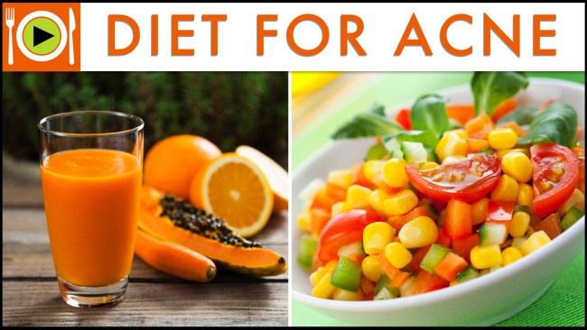 diet for acne
