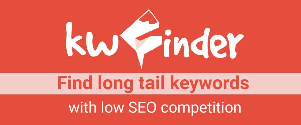 KWFinder Best SEO Keyword Research Tool