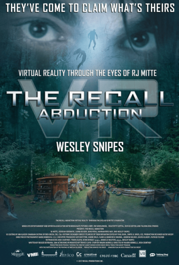 vr 3d abduction