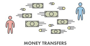 money transfer company to Asia