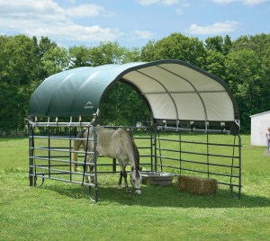 horse shelter portable