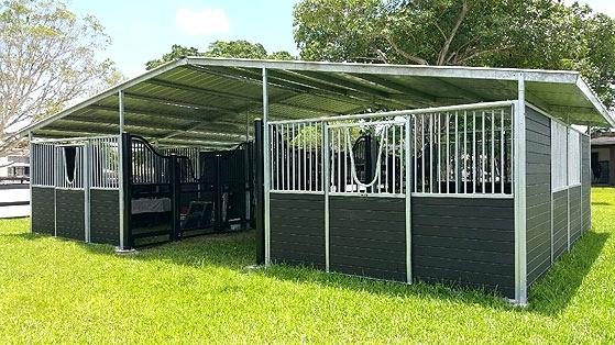 ideal horse barn idea