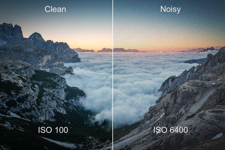 Low ISO photo example