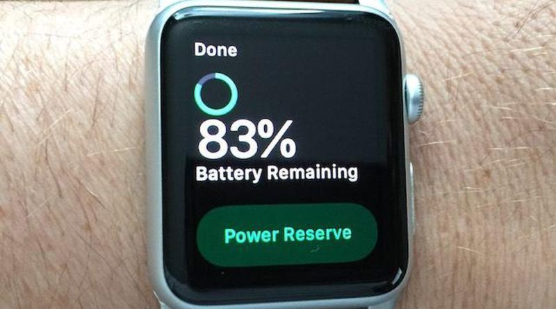 smartwatch battery life