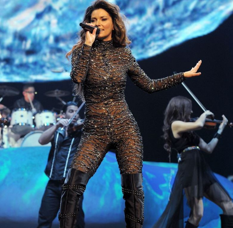 Shania Twain Inspired by Britney Spears