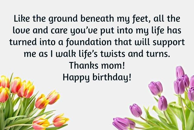 birthday mom wishes