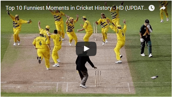 top 10 funny cricket moments