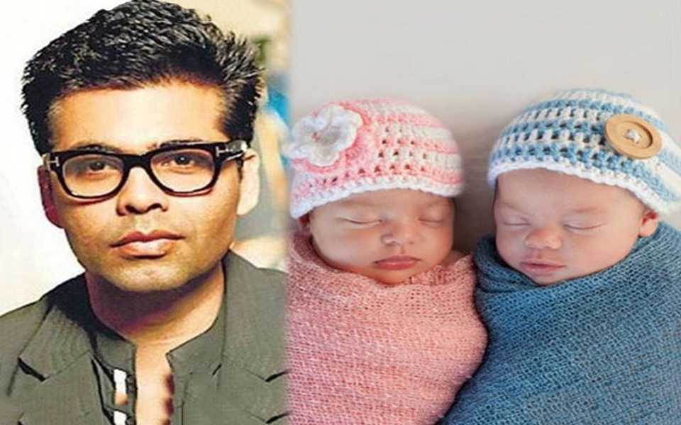 Karan Johar has become the single parent of twins born through surrogacy