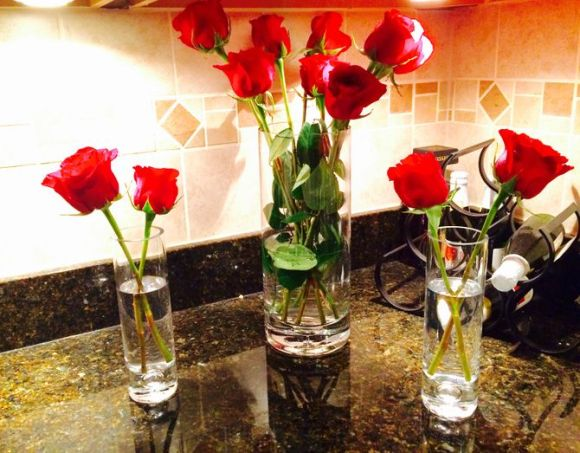 keep roses fresh