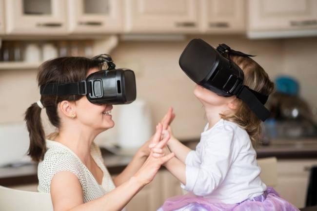 virtual reality image