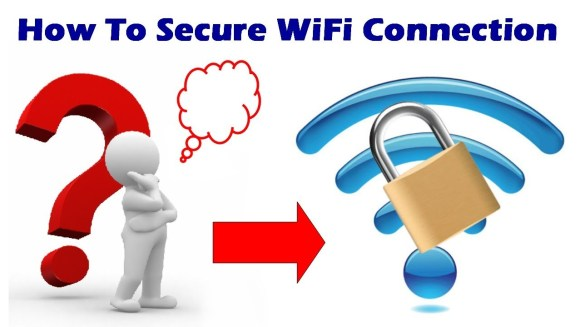 how to secure wifi password