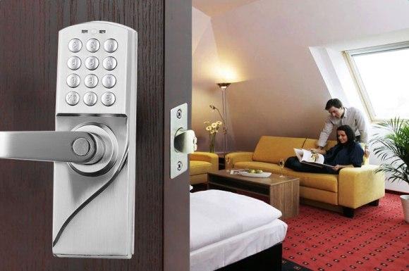 digital keyless electronic door lock