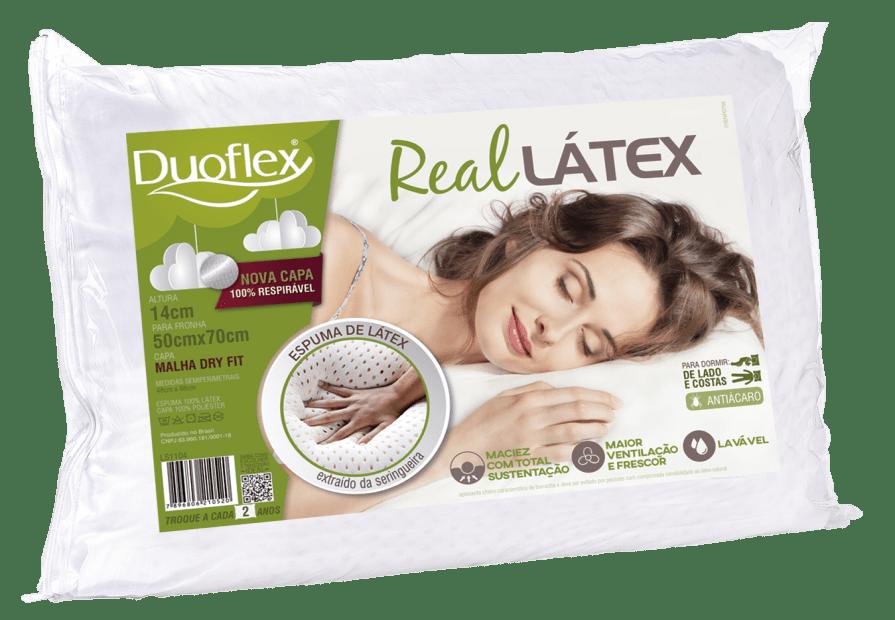 real latex pillow