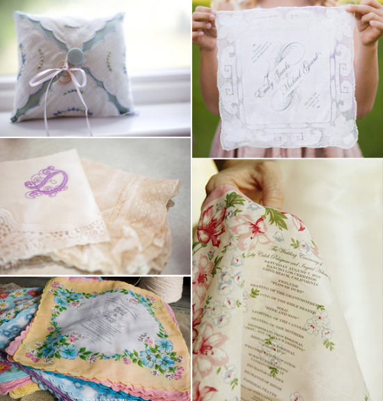 Handkerchief Wedding Invitations Inspiration