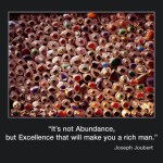 Picture of the week #11: That's not Abundance but Excellence….
