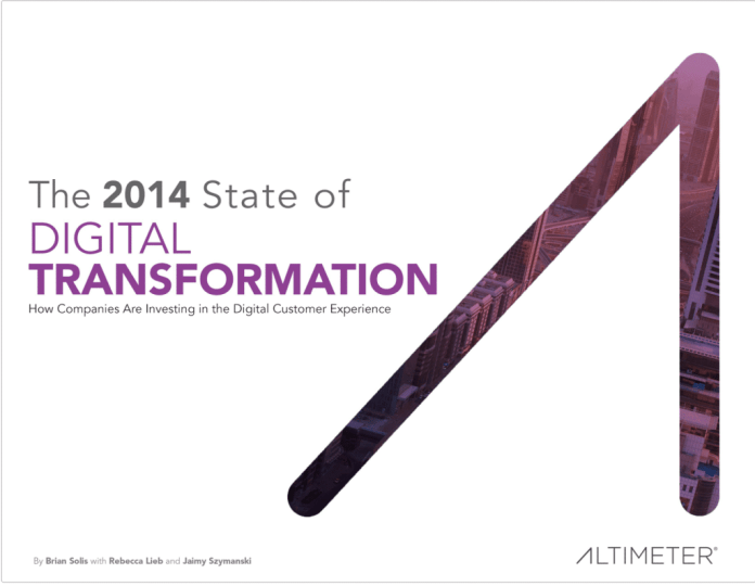 Digital transformation: customer experience isn't everything