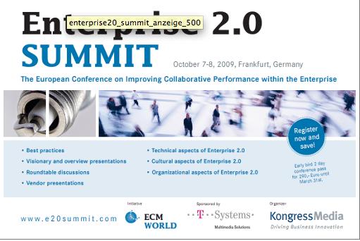 Enterprise 2.0 summit