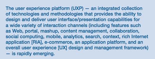 gartner UXP
