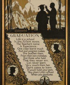 Buckbee Brehm Motto – Graduation – Henrikson Circa 1920's