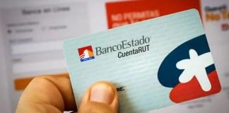 Cuenta RUT Banco Estado Chile