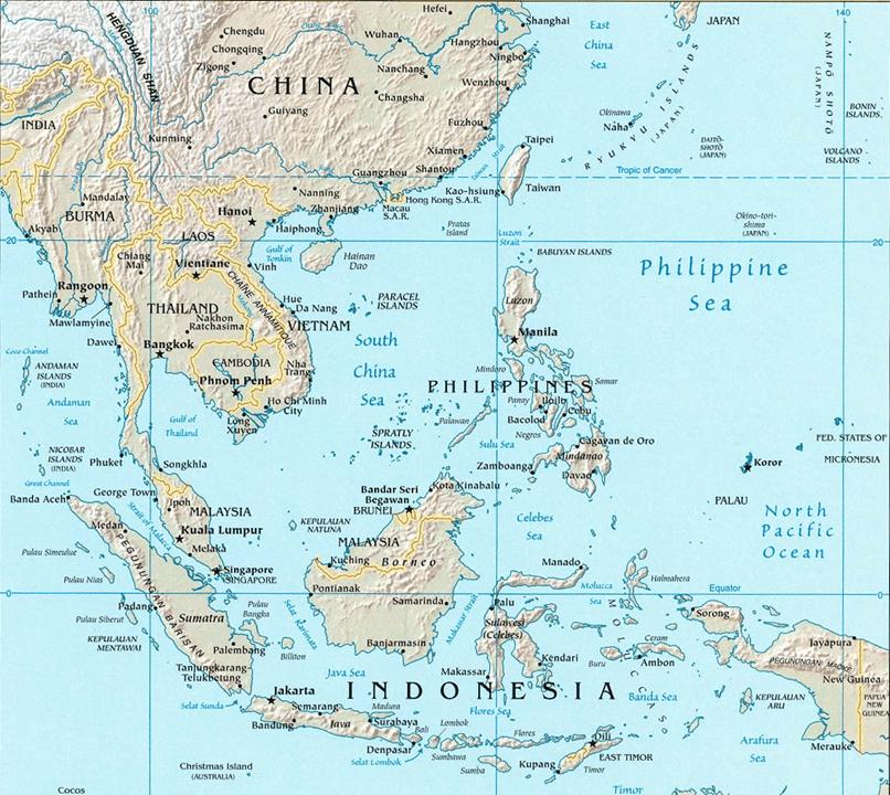 South China Island Menu