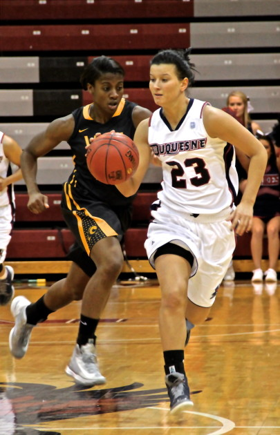 Duquesne women's basketball topples VCU Rams in first ...