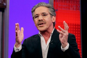 "Fox News Channel commentator Geraldo Rivera speaks on the ""Fox & friends"" television program."