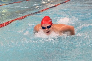 Claire Murray | The Duquesne Duke Kylie Dickman and the Duquesne women's swim team fell to both Richmond and Oakland this weekend.