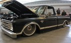 (Claire Murray / Asst. Photo Editor) Gerry Kerna's black 1967 Chevrolet C-10