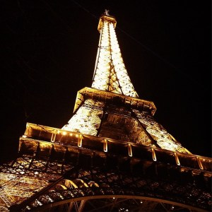 Marnie Schleicher (The Duquesne Duke) - An Instagram photo taken of the Eiffel Tower in Paris, France.