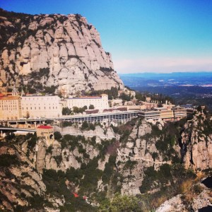 Taylor Stessney (The Duquesne Duke) - An Instagram photo taken of Santa Maria de Montserrat in Catalonia, Spain.