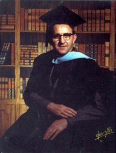 Courtesy Photo. The Rev. Sean Hogan poses for a graduation photo at Duquesne in 1976.