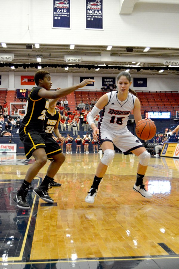 Duquesne Student Media   Women's basketball routs visiting VCU