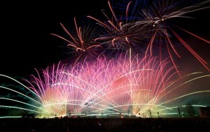 (Photo Courtesy of Rocco Vitale) A Pyrotechnico fireworks show at Pyro Fest.