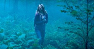 "Courtesy of Lava Bear Films ""The Forest"" takes place in the real life Aokigahara forest in Japan, which has seen multiple suicides take place in it over the years. In 2003, 105 bodies were discovered in the forest's borders."