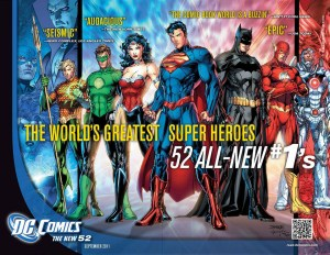 Courtesy of DC Comics DC Comics, the second largest comic book company behind Marvel, rebooted its entire universe in 2011, erasing decades worth of canon and stories.