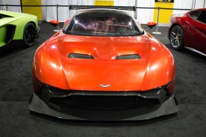 Photo by Seth Culp-Ressler | Features Editor. Aston Martin's track-only Vulcan was the highlight of the show.