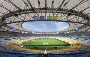 Courtesy of World Soccer - Pictured here is Maracana Stadium in Rio de Janiero, Brazil where the 2016 Summer Olympics will be held in August.