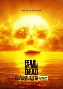 "Courtesy of AMC Studios Season 2 of ""Fear the Walking Dead"" will have double the number of episodes of the previous season, going from 6 to 15."