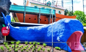 "Kennywood's traditional funhouse ride ""Noah's Ark"" is known for being creepy. It recently won an award from The Golden Ticket for best walkthrough ride."