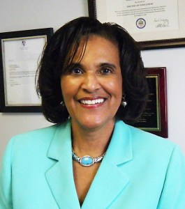 Courtesy of Erroline Williams Williams is a training and project specialist in Duquesne's Human Resources department. She was appointed to the board of directors of non-profit Gwen's Girls.