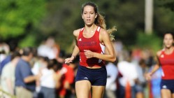 Courtesy of Duquesne Athletics Senior Valerie Palermo competed in her final A-10 Championship event, finishing third out of 131.