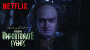"""Courtesy of Netflix Neil Patrick Harris stars as Count Olaf in Netflix's adaptation of the beloved series of novels. The first eight episodes cover the events of the first four novels, ending with """"The Miserable Mill."""""""