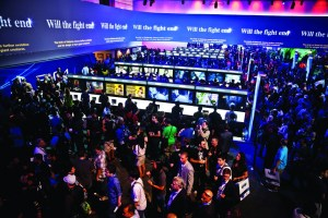 Courtesy of Wired The Electronic Entertainment Expo (E3) began in 1995. It has since grown into the biggest trade show for the video game industry, with many consoles unveiled over the years.