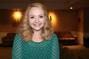 Ollie Gratzinger | Asst. Features Editor Maria Miller, a junior secondary education and history dual major.