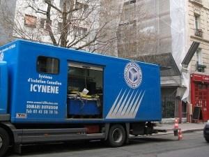 Camion Icynene
